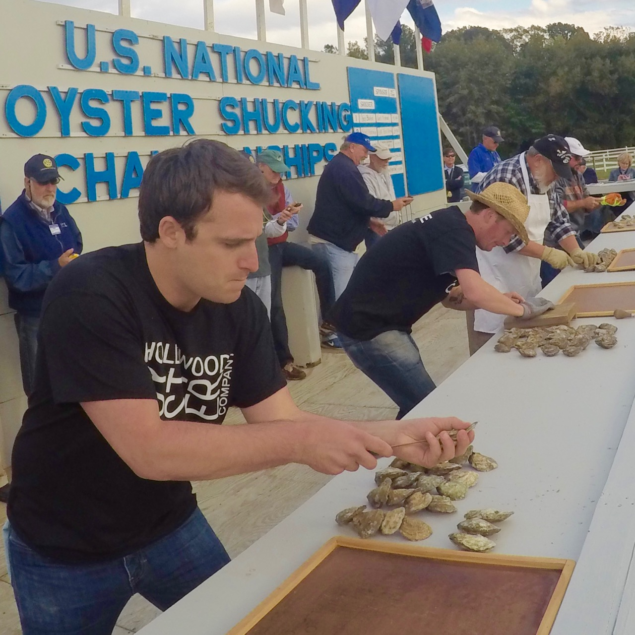 2016 U.S. NATIONAL OYSTER SHUCKING CONTEST U.s. Oyster Shucking Championship