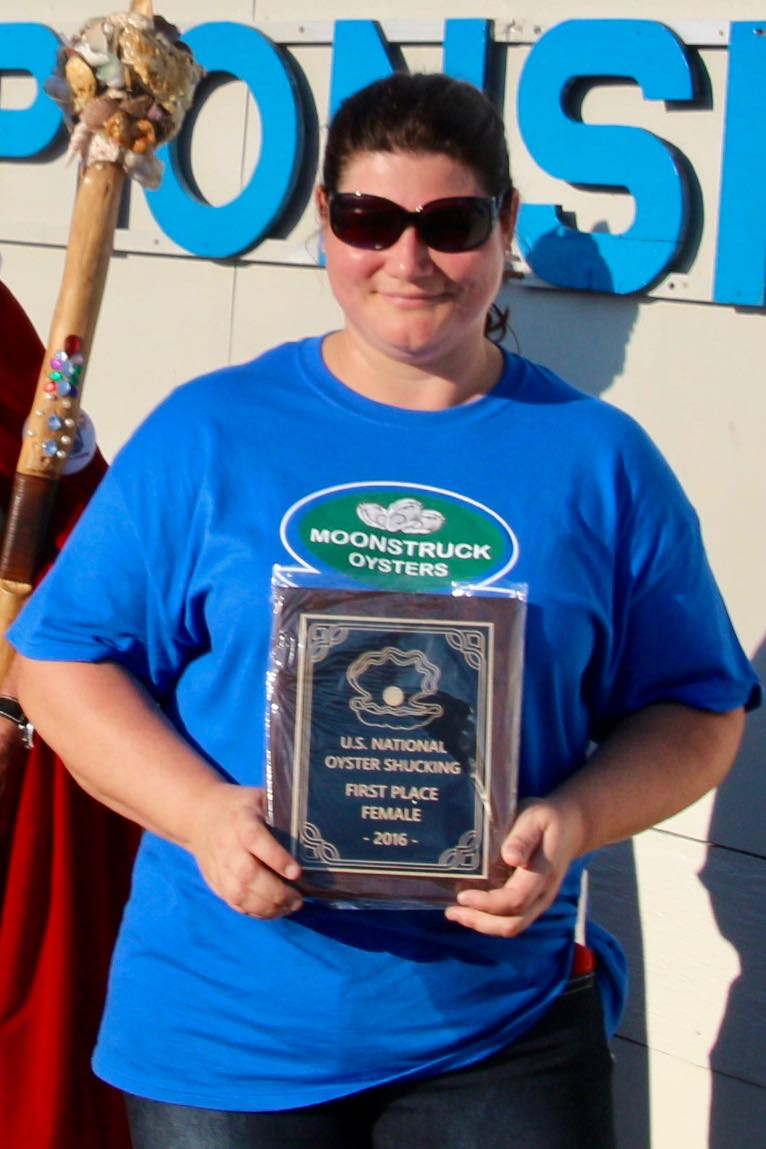Oyster Shucking Grand Champion, once again became the 2016 Woman's U.S ... U.s. Oyster Shucking Championship